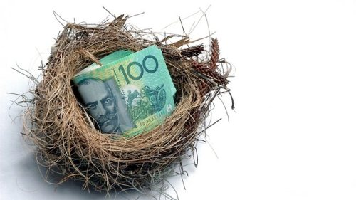super annuation nest egg